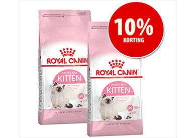 10% korting op Royal Canin Kittenvoer