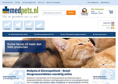 Bezoek de webshop van Medpets