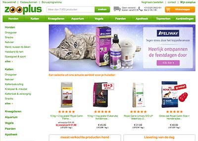 Bezoek de webshop van Zooplus