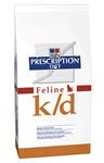 Hill's k/d nierdieetvoer in droge variant