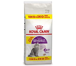 Petsplace Royal Canin Sensible +2 kg gratis